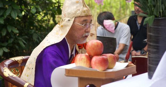 2012年の秋彼岸動物慰霊法要が開催されました。