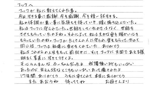 2014年秋彼岸動物慰霊法要01